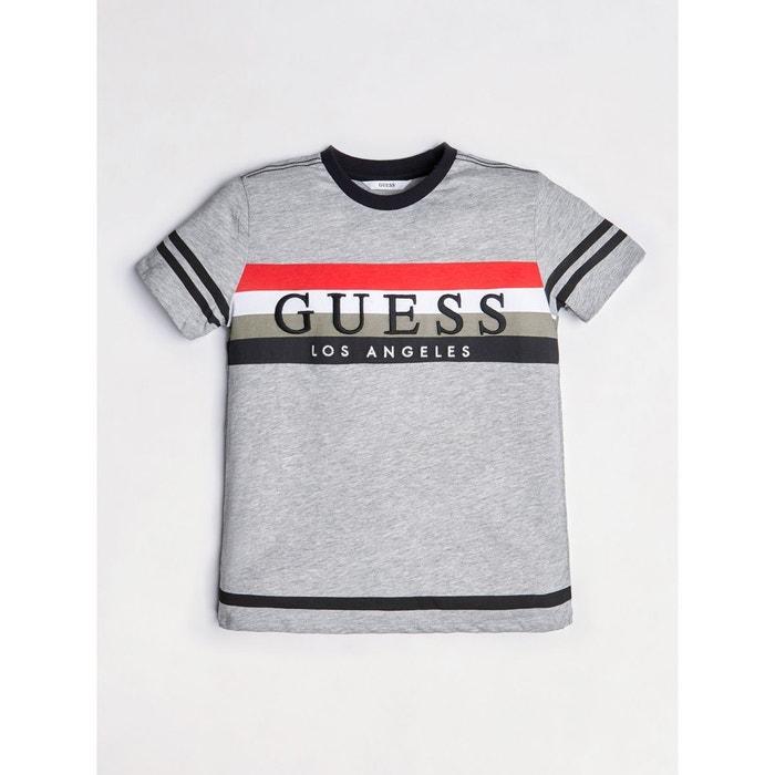 8057d79584b6c T-shirt imprimé color block Guess Kids