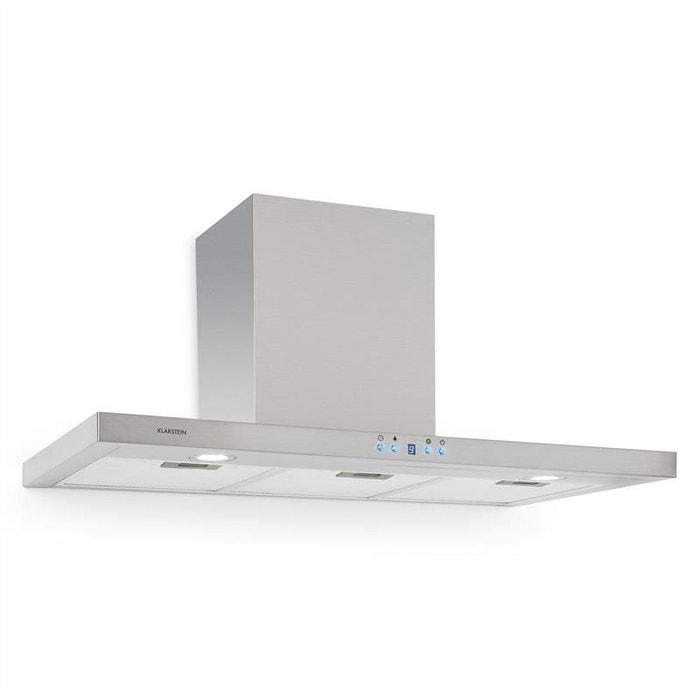 aws b53c hotte aspirante inox 90cm 650m h klarstein la redoute. Black Bedroom Furniture Sets. Home Design Ideas
