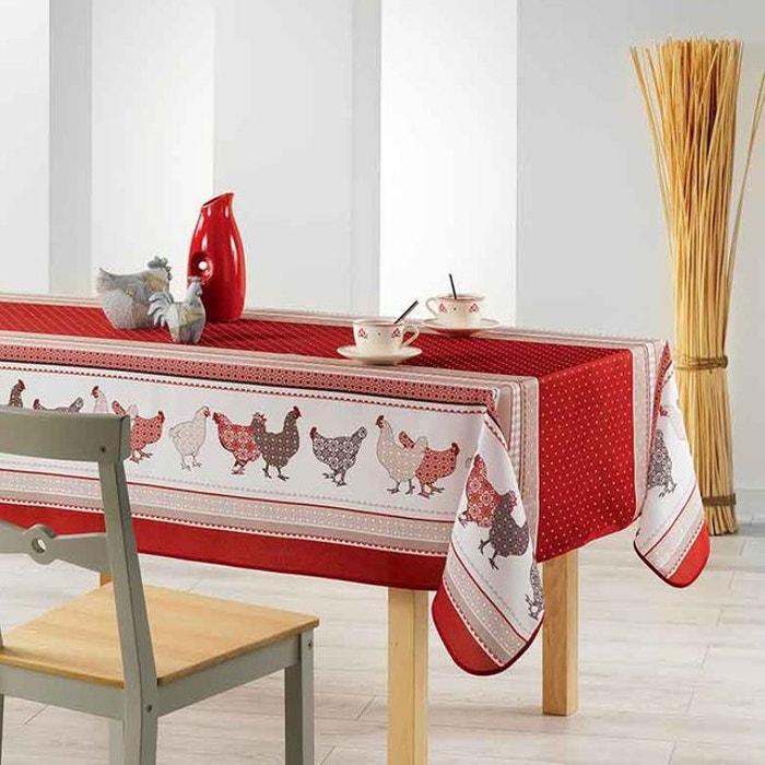 nappe rectangulaire campagne sans home maison la redoute. Black Bedroom Furniture Sets. Home Design Ideas