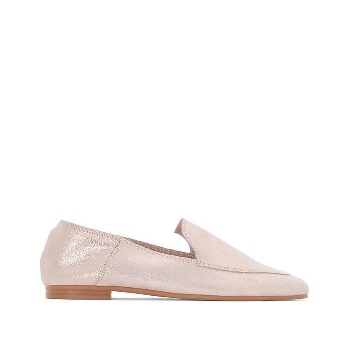 Lara Soft Iridescent Leather Loafers  ESPRIT image 0