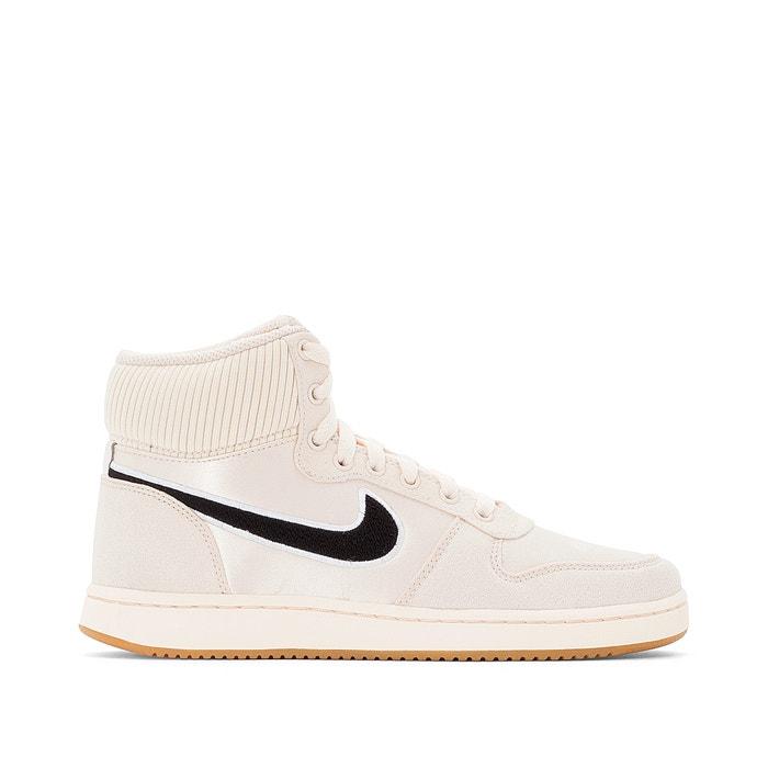 separation shoes 866e0 42d41 Baskets montantes ebernon mid premium , beige, Nike   La Redoute