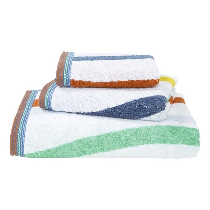 serviette de bain peign envol e multi couleurs olivier desforges la redoute. Black Bedroom Furniture Sets. Home Design Ideas