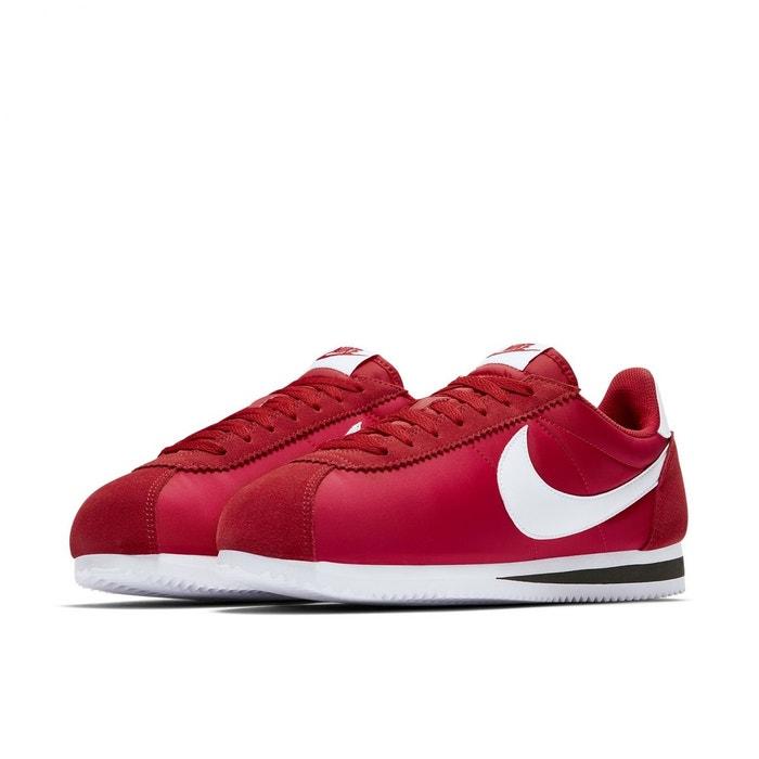 Basket nike classic cortez nylon - 807472-600 rouge Nike