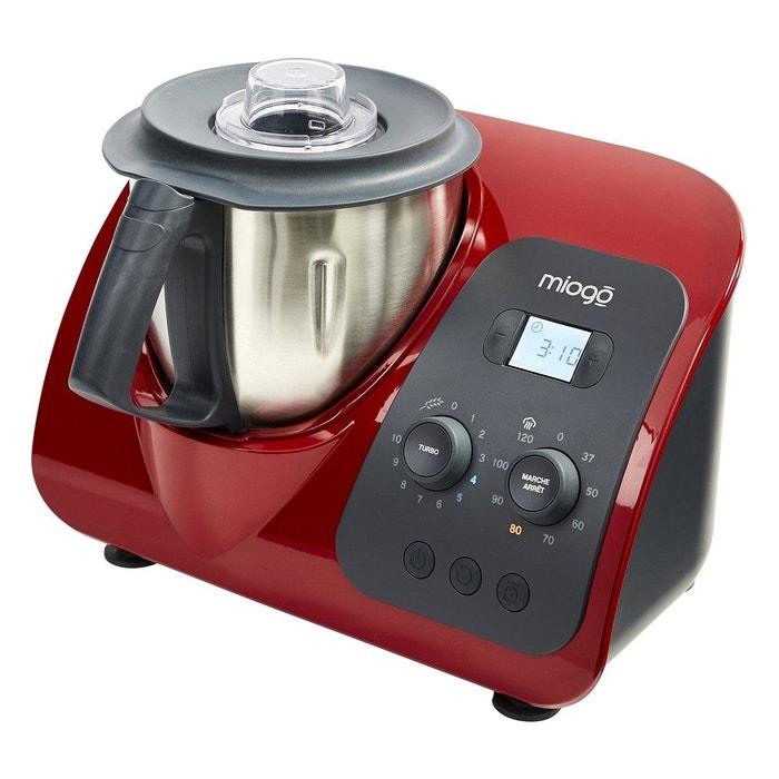 robot cuiseur miogo maestro rouge rouge miogo la redoute. Black Bedroom Furniture Sets. Home Design Ideas