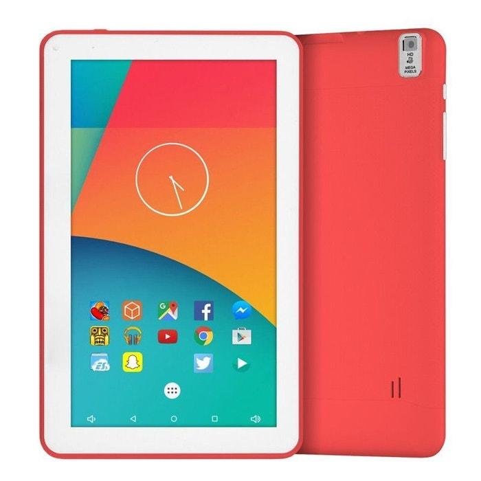 tablette 9 pouces android 6 0 tactile hdmi 4k 1 5ghz 1go ram rose 40go rose yonis la redoute. Black Bedroom Furniture Sets. Home Design Ideas