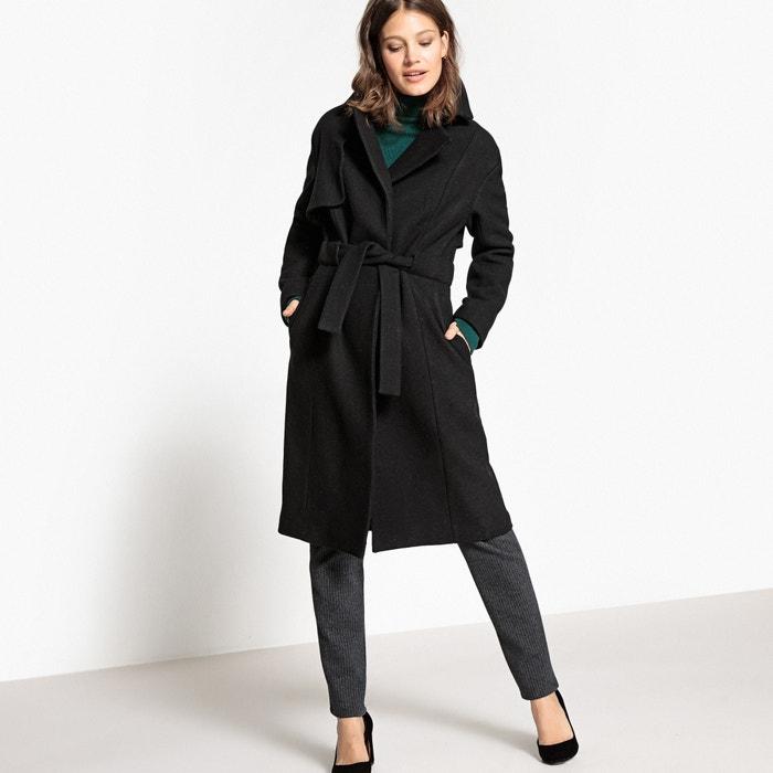 La Manteau peignoir Redoute esprit Collections Redoute noir femme La 0qSr0E