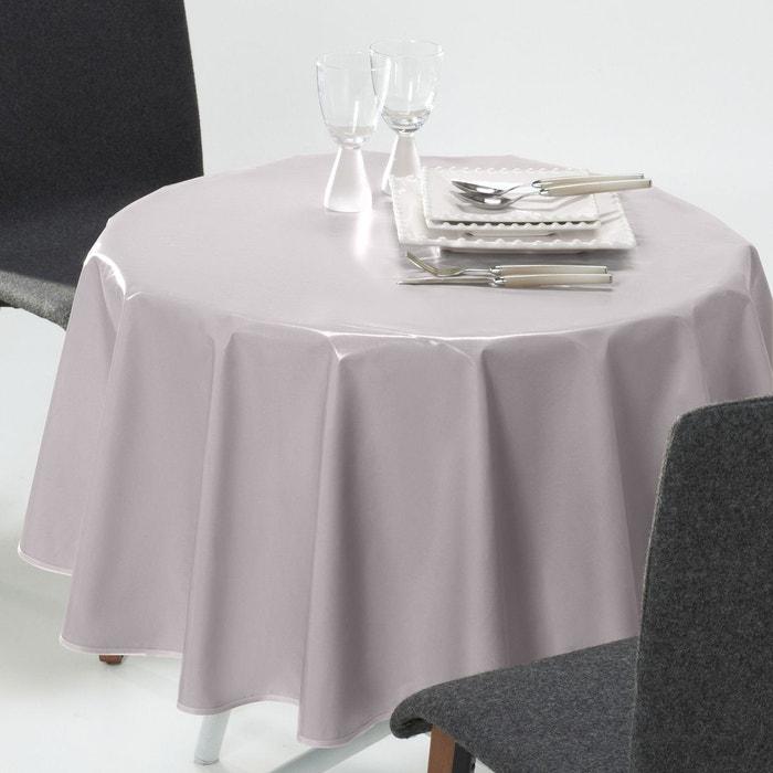 nappe ronde unie pvc scenario la redoute interieurs la. Black Bedroom Furniture Sets. Home Design Ideas