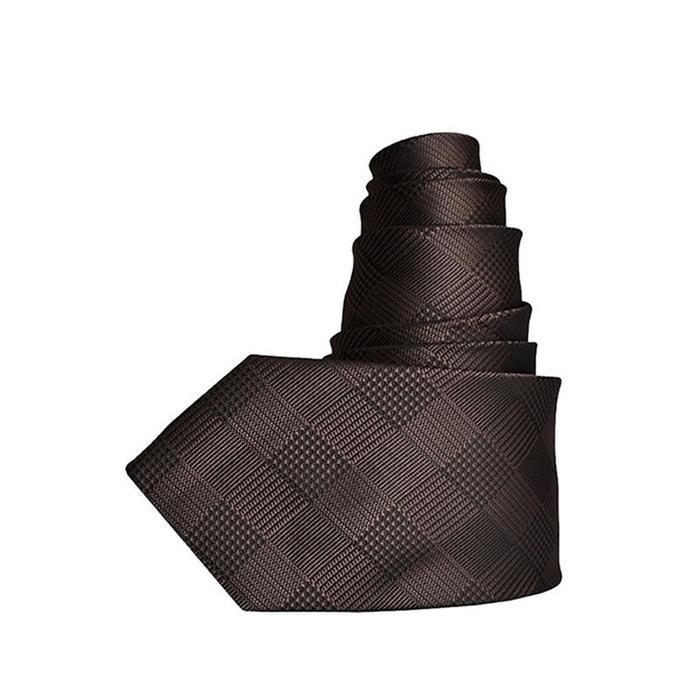 Pas Cher Marchand Cravate carreaux marron Toutacoo | La Redoute De Haute Qualité En Ligne En Ligne Pas Cher Authentique Livraison Gratuite Authentique aiApm