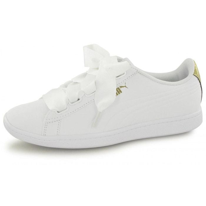 Baskets vikky ribbon vt blanc Puma  ad77ae0817a