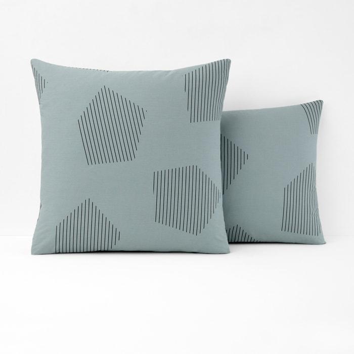 Hexa Cotton Percale Single Pillowcase  La Redoute Interieurs image 0