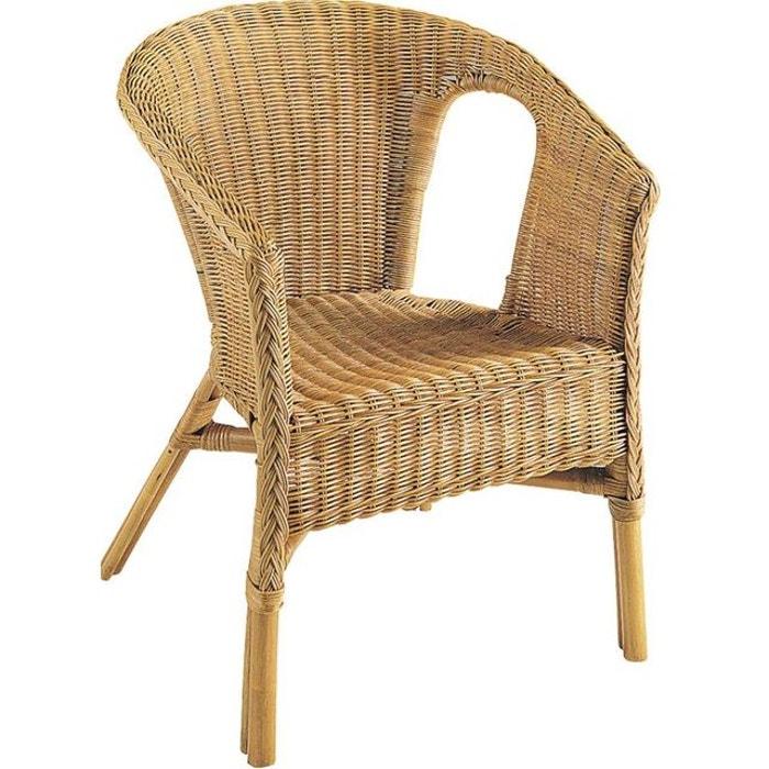 fauteuil en rotin helene naturel aubry gaspard la redoute. Black Bedroom Furniture Sets. Home Design Ideas