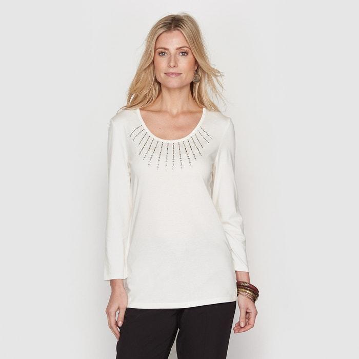 Image T-shirt coton/modal ANNE WEYBURN