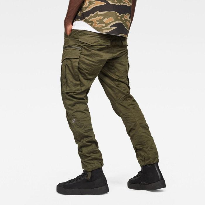 Pantalon neuf cargo G STAR rovic zip 3d straight tapered