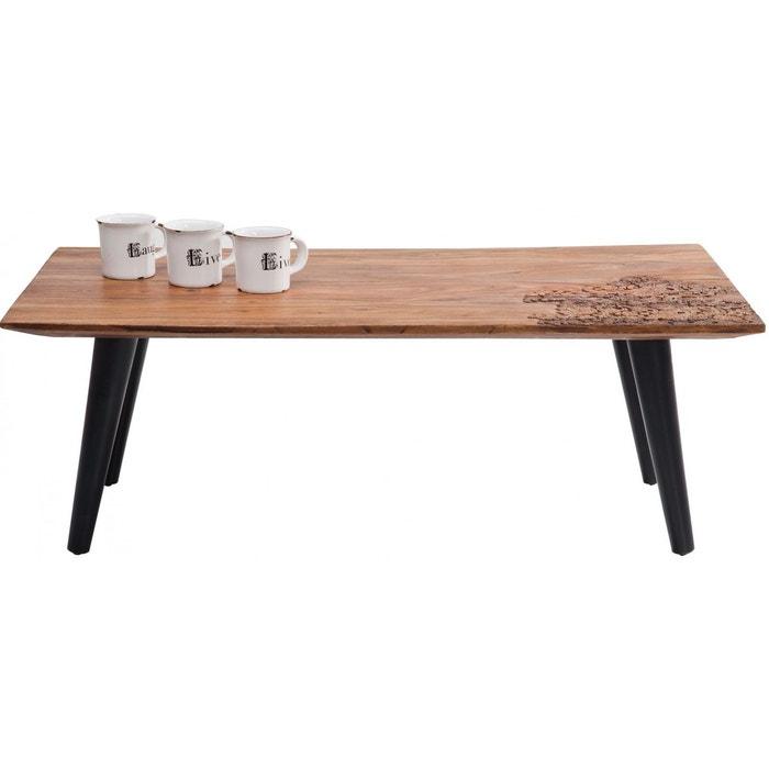 table basse rodeo 110x60 cm kare design marron kare design la redoute. Black Bedroom Furniture Sets. Home Design Ideas