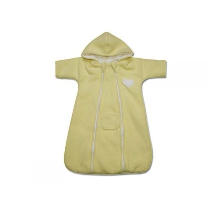 Nid d ange prématuré jaune, polaire, coeur  POUSSIN BLEU image 0