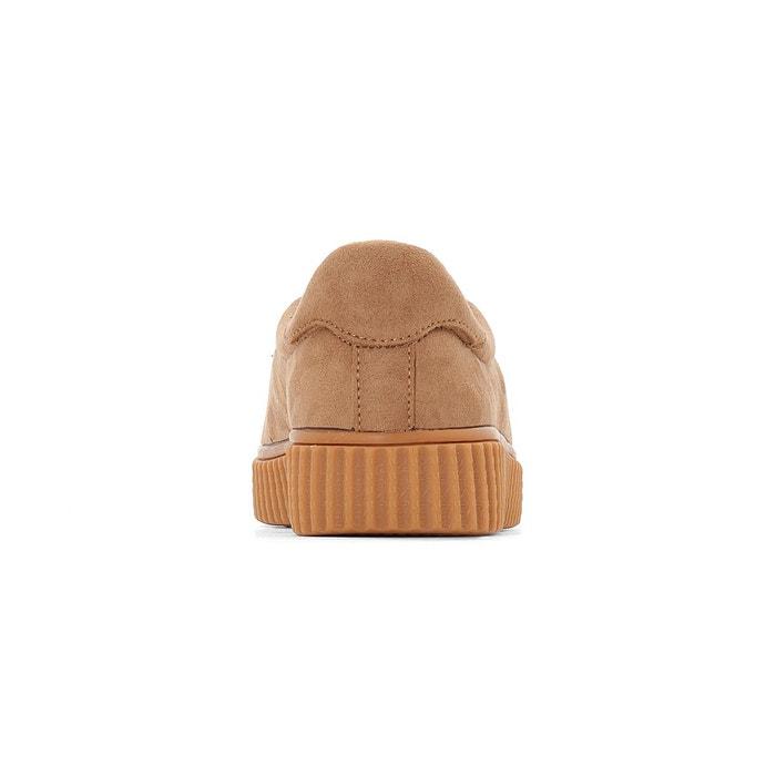 Castaluna matières 38 Baskets bi pied beige large 45 Sx75qzap
