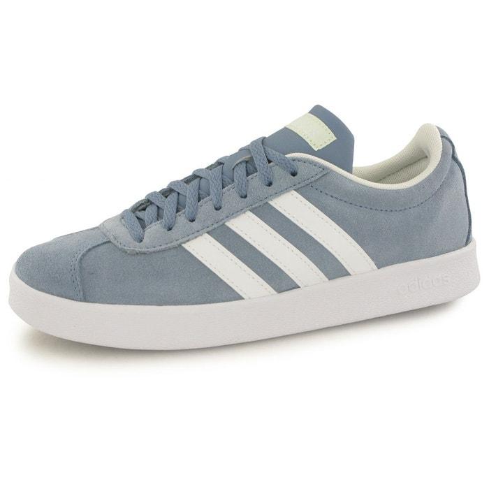 designer fashion 72287 7395a Baskets vl court 2.0 bleu Adidas  La Redoute