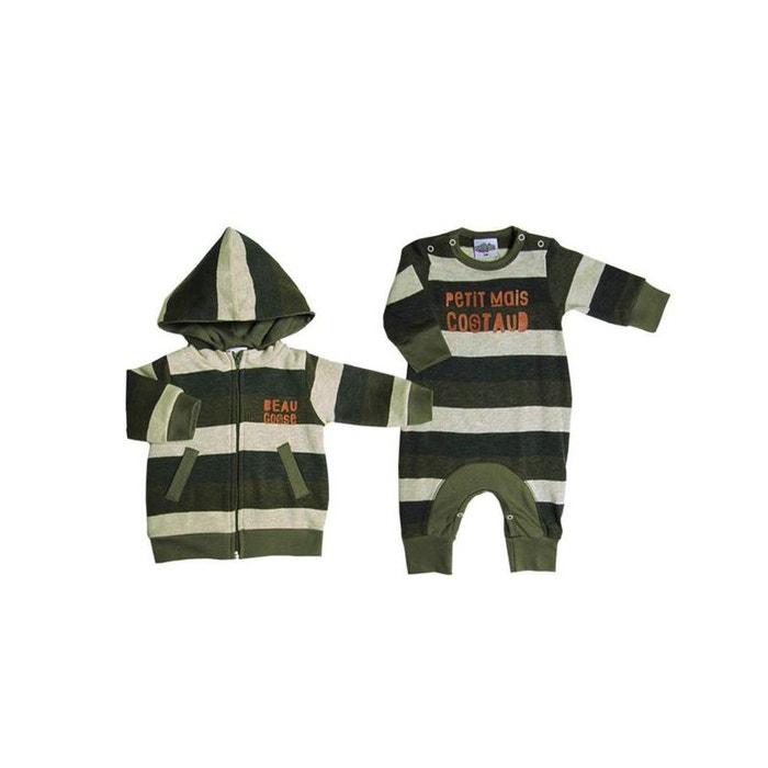 848d43f859620 Vêtement bébé  combi et veste garcon