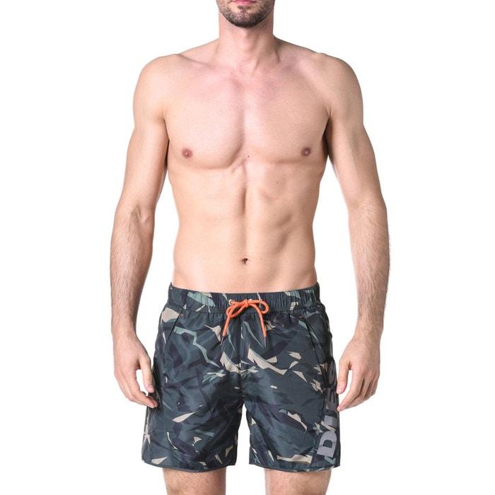 f4321b295 Calções de banho com estampado camuflagem caqui Diesel | La Redoute