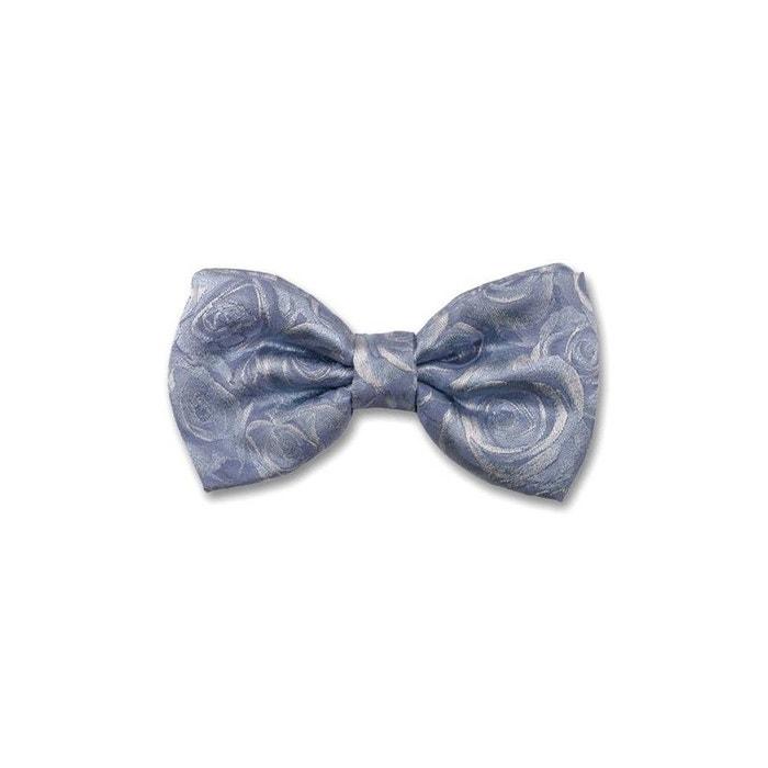 29b0c030b691b Noeud papillon noué roses. soie motifs bleu Robert Charles | La Redoute