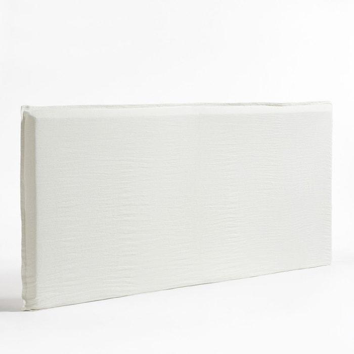 housse t te de lit xl lin lav sandor am pm la redoute. Black Bedroom Furniture Sets. Home Design Ideas