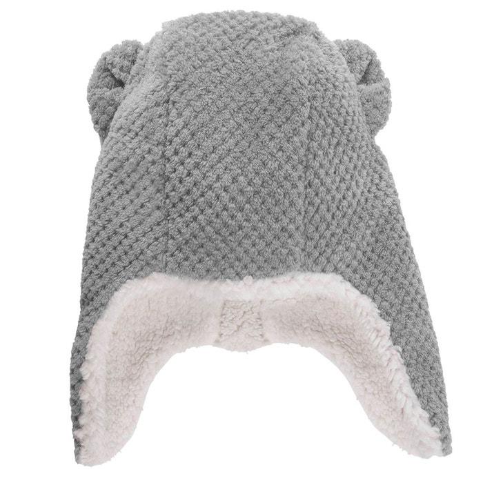 Bonnet péruvien enfant effet pop corn  gris  gris Isotoner   La Redoute 5c927f5c592