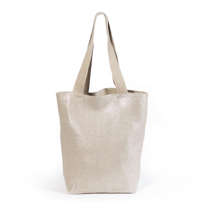 Discalie Reversible Linen/Cotton Bag  AM.PM. image 0