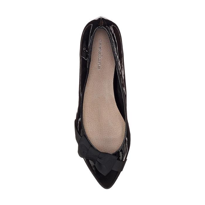 ancho al 243;n 38 estilo con lacito tac Zapatos charol pie para CASTALUNA de 45 del RwCtqOxCv