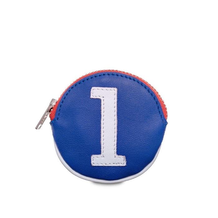 Acheter Pas Cher Best-seller En Ligne Pas Cher Pas Cher Petit porte monnaie cuir bleu blanc rouge bleu Entre 2 Retros | La Redoute 2018 Fraîche XkQUBcWa2
