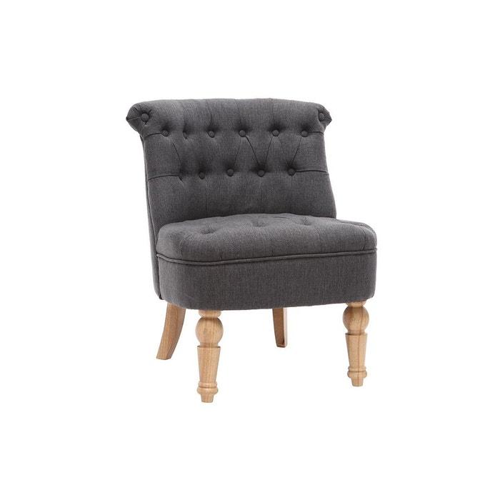 fauteuil crapaud classique tissu odeon miliboo la redoute. Black Bedroom Furniture Sets. Home Design Ideas