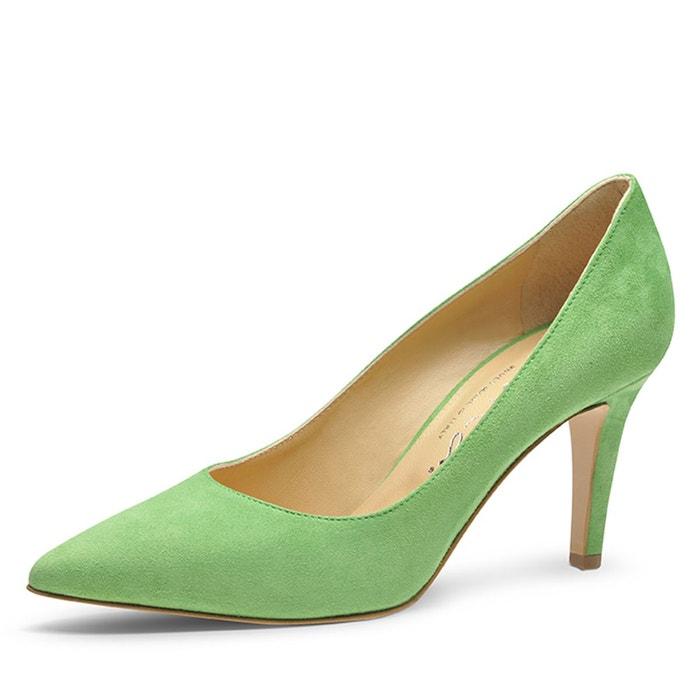 Escarpins femme  vert clair Evita  La Redoute