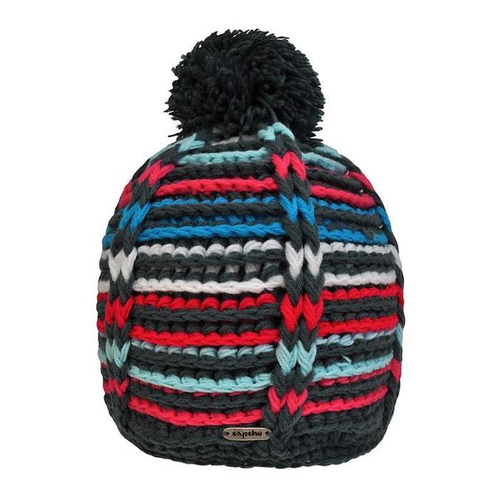 En Vente Sur Ebay Livraison Gratuite Rabais Bonnet à pompon igloo multicolore Toutacoo | La Redoute Le Magasin jgfcN5