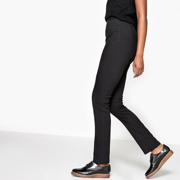 Pantalon slim taille haute noir la redoute collections la redoute - Guide des tailles la redoute ...