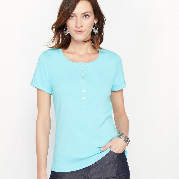 T-shirt, puro algodão PIMA  ANNE WEYBURN image 0