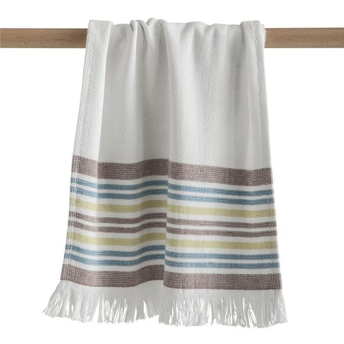 serviette invit fouta ponge doubl e cyprus blanc ray la redoute interieurs la redoute. Black Bedroom Furniture Sets. Home Design Ideas