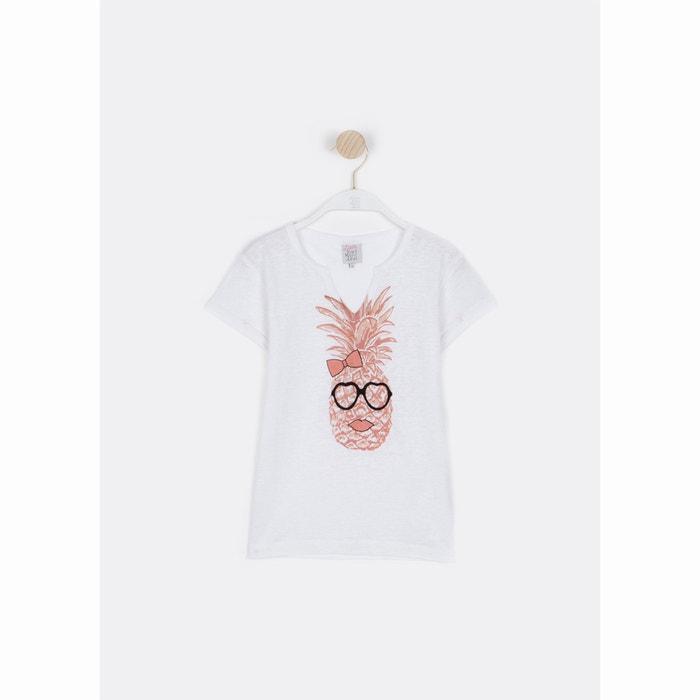 afbeelding T-shirt met ananas print 6 - 16 jr LITTLE KARL MARC JOHN
