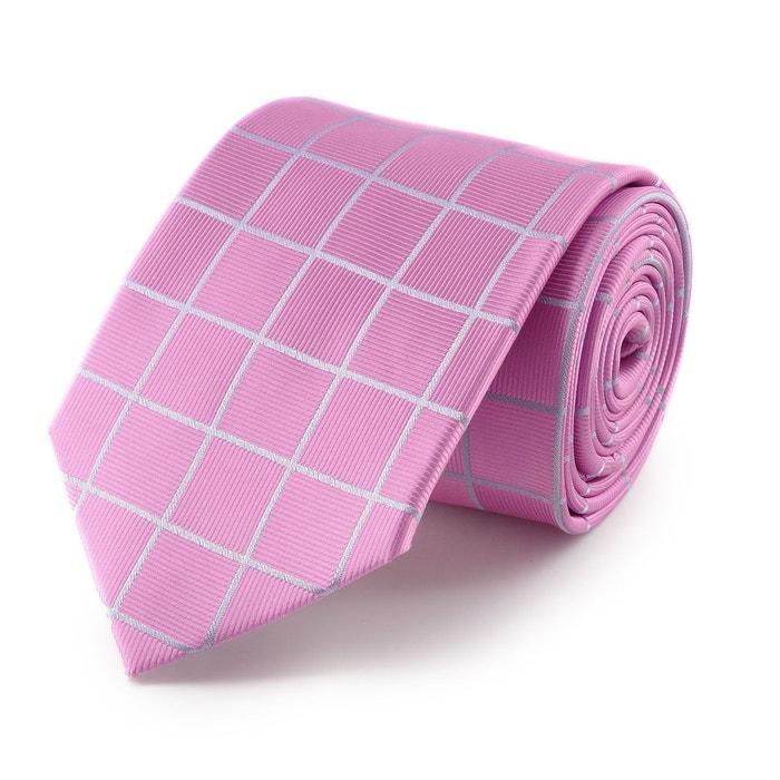 boutique En Vrac Modèles Cravate quadrillage rose rose Virtuose | La Redoute Lciza