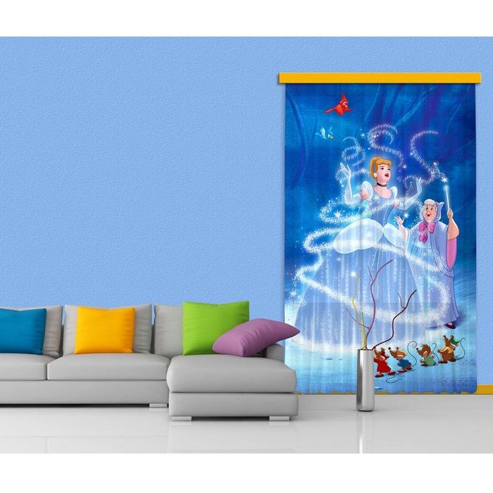 Rideaux princesse cendrillon disney-standard : 140x245 cm bleu ...
