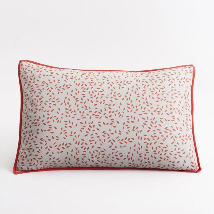 taie oreiller taille b b voile de coton arteaga rose gris am pm la redoute. Black Bedroom Furniture Sets. Home Design Ideas
