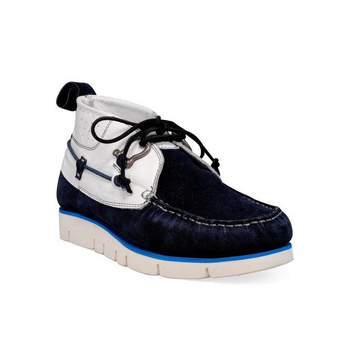 Chaussures bateau blanc M By