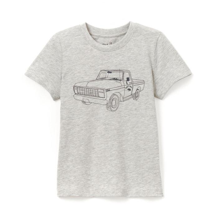 """afbeelding T-shirt """"Pick-up"""" 3-12 jaar La Redoute Collections"""