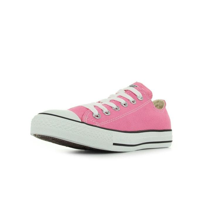 Baskets femme all star ox rose/blanc/noir Converse Sortie Expédition Boutique En Ligne MeiDltTXA4