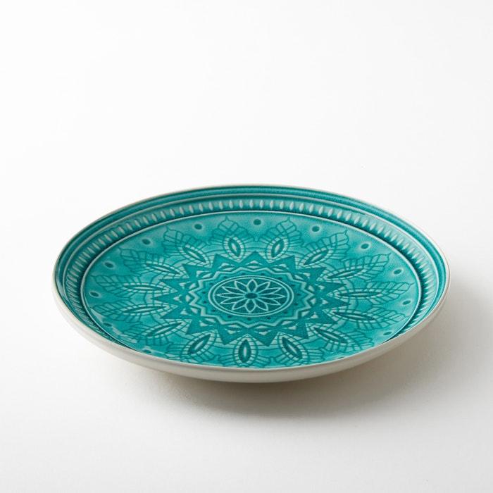 Set of 4 Nicolosi Stoneware Dinner Plates