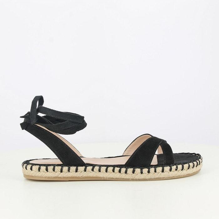 Sandales cuir plates Jonak