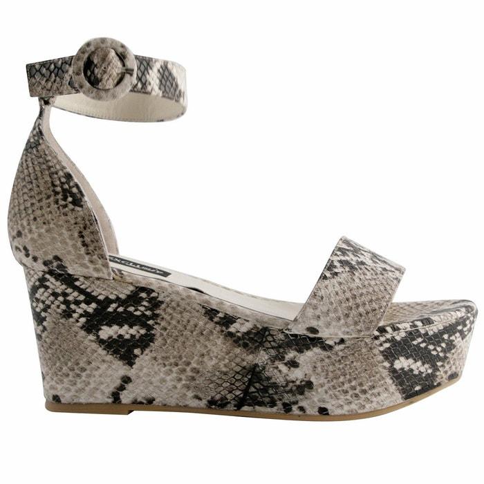 Chaussures compens?es iosis  beige Exclusif Paris  La Redoute