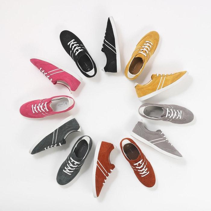 Baskets cuir r color La Redoute Collections