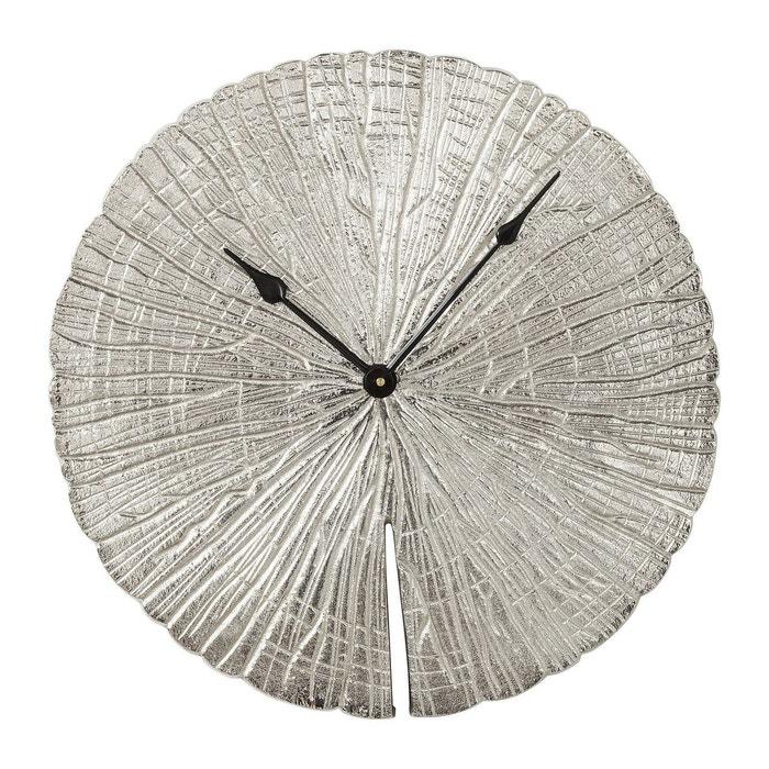 horloge murale albero argent kare design argent kare design la redoute. Black Bedroom Furniture Sets. Home Design Ideas
