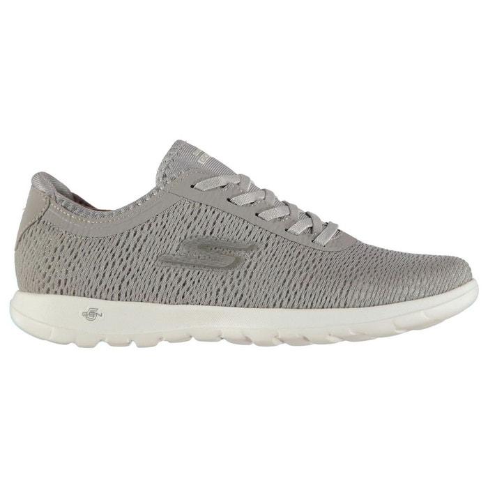 Chaussures de sport à enfiler respirant gris Skechers Jeu Rabais Prix Pas Cher Officiel Footlocker Vente En Ligne Finishline lvV71j0qGa