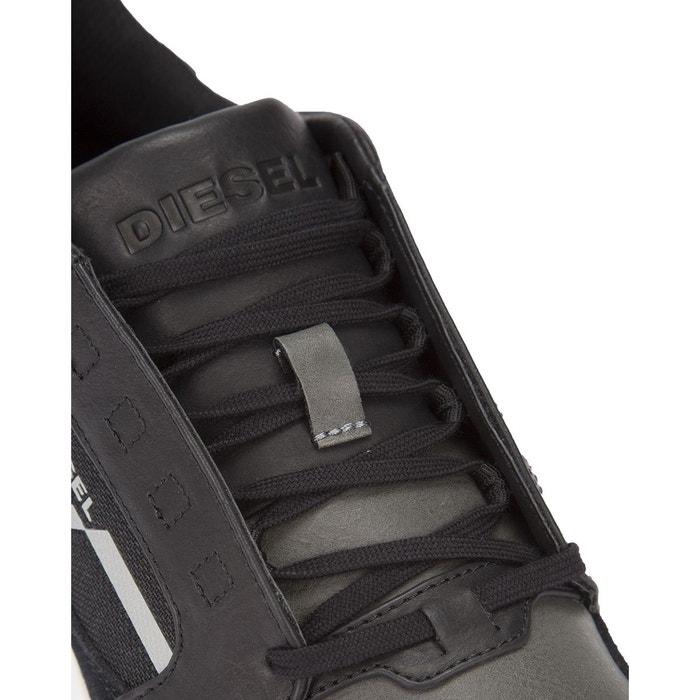 Sneakers fleett noire pour homme noir Diesel