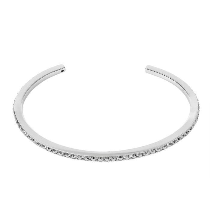 Bracelet adore métal cristal blanc Adore   La Redoute Vente Profiter Commercialisables En Ligne Jeu Obtenir Authentique 50WPeX338